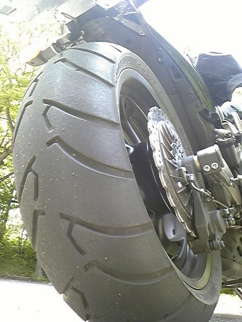 新型VMAX <br />  タイヤ